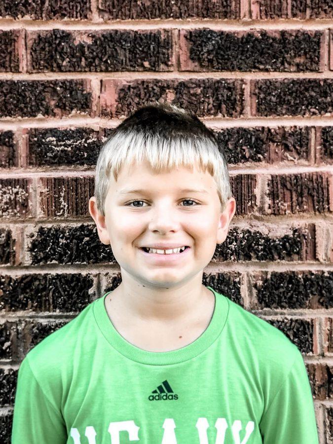 2019-2020 Junior Staff Writer Gage Garrett - 6th Grader at Cannelton Junior High School.