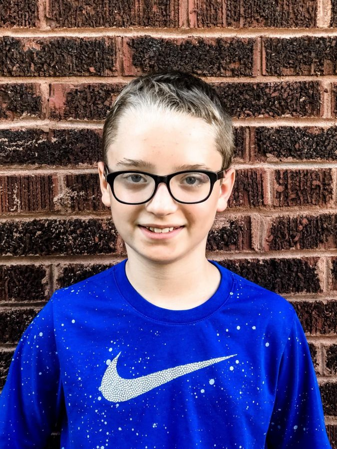 2019-2020 Junior Staff Writer Rylan Snyder - 6th Grader at Cannelton Junior High School.