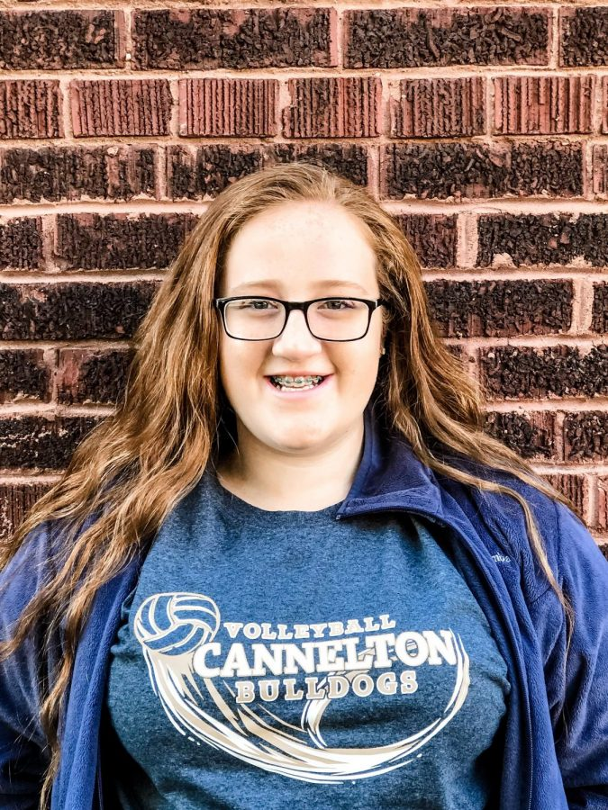 2019-2020 Staff Writer Lori Northern - Junior at Cannelton High School.