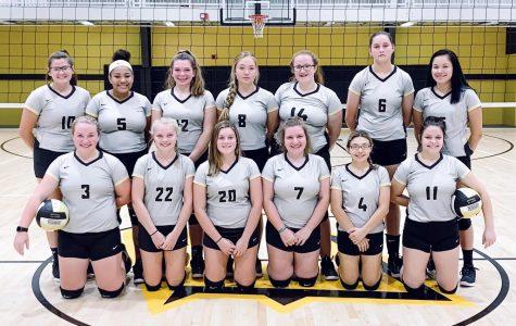 Cannelton High School Varsity & JV volleyball teams 2019-2020