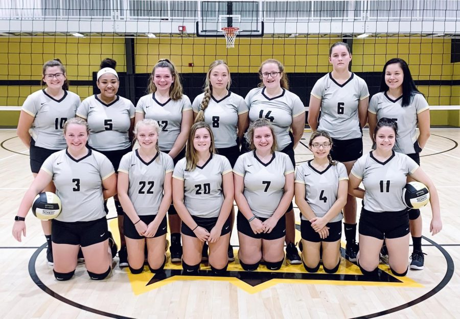 Cannelton High School Varsity & JV volleyball teams 2019-2020