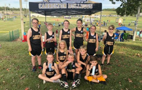 Our 2018-2019 junior high cross country team.