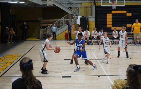 Junior High Boys Fall to Cloverport in Season Opener