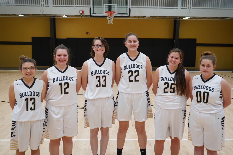 Cannelton High School's Varsity Girls Basketball Team.
