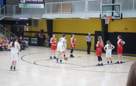 Kendall going up for a free-throw.