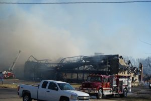 BREAKING NEWS: Fire Breaks Out at Tell City Riverport Building