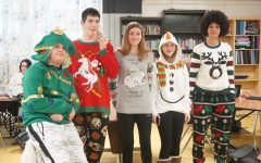 Cannelton High School Ugly Holiday Sweater Contest 2019