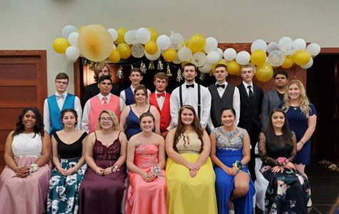 Our Senior Class at Prom 2019.