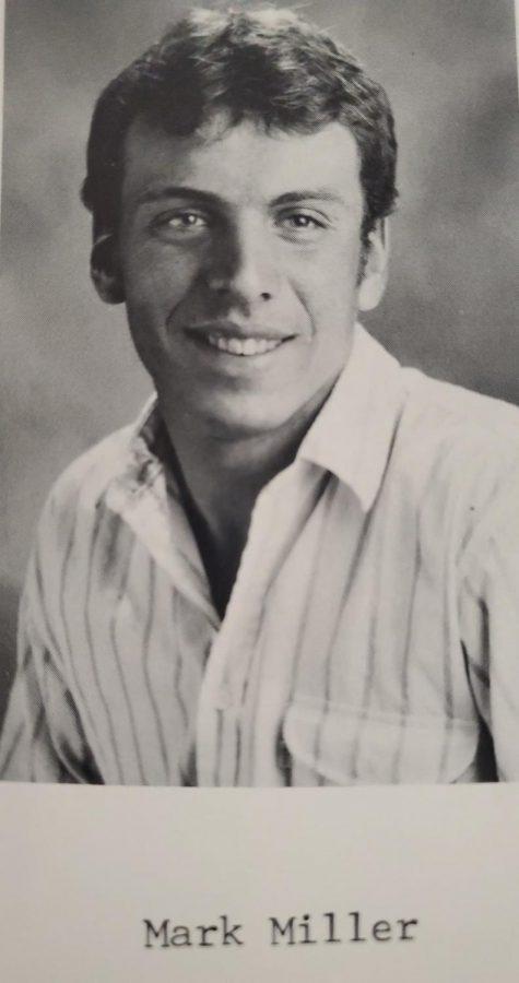 Mark Miller's photo in the 1987-1988 Notlennac.