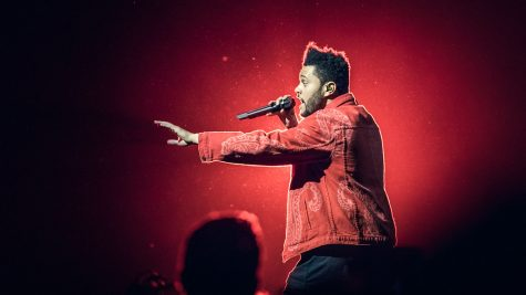 Hit artist The Weeknd performed at this year