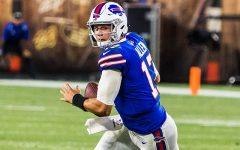 Buffalo Bills quarterback Josh Allen is a top contender for this seasons MVP.